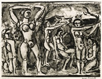 automne (from miserere) by georges rouault