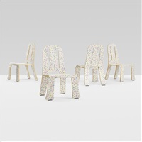 queen anne chairs (set of 4) by robert venturi