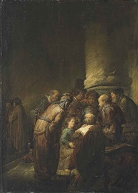 christ amongst the doctors by benjamin gerritsz cuyp