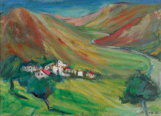 landscape by esther peretz arad