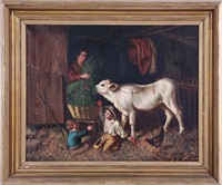 feeding the calf by gaetano mormile