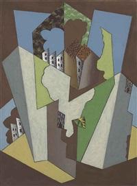 paysage cubiste by léopold survage