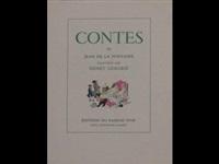 contes (2 vols by jean de la fontaine w/1 work; quarto) by henry lemarie