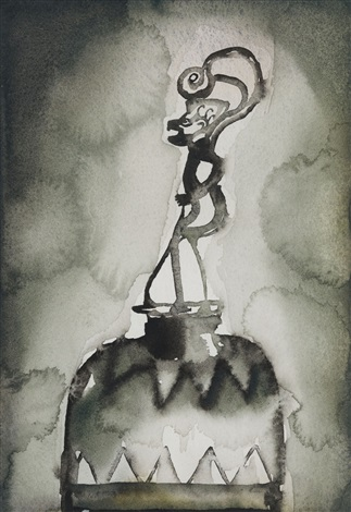bell by francesco clemente