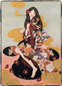 lips of camellia by hiroko higuchi