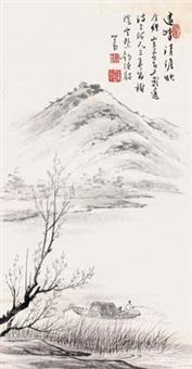 清波垂钓 by pu ru