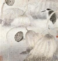 秋意 by jiang hongwei