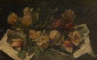 le bouquet de roses by carel nicolaas storm van 's-gravensande