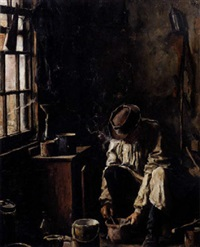 the painter's workshop by henri de smeth