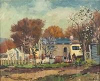 cottages by piet (pieter gerhardus) van heerden