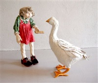 girl with goose by kay ritter