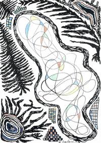 ohne titel (abstrakte komposition) by wilhelm imkamp