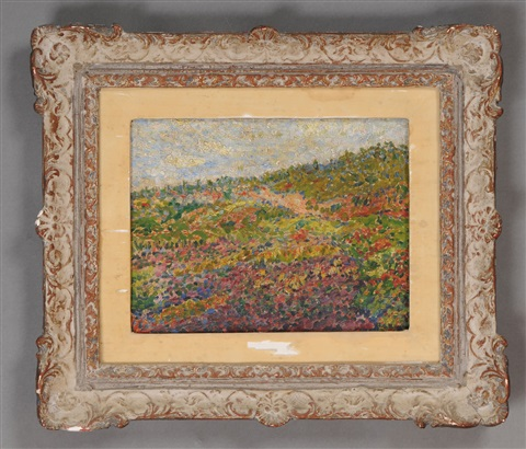 field of flowers by alfred henry maurer