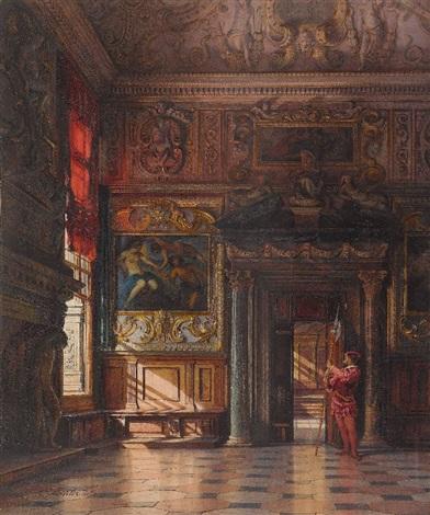 venedig die sala dellanticollegio im dogenpalast by emanuel stöckler