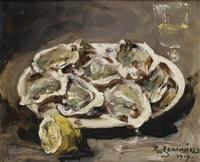 le déjeuner d'huîtres by georges jeannin