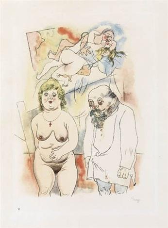 pappi und mammi from ecce homo by george grosz