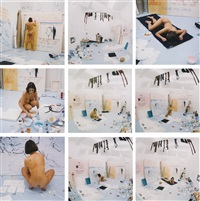 naked photos - life model goes mad (in 9 parts) by tracey emin