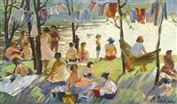 summer picnic by mai dantsig
