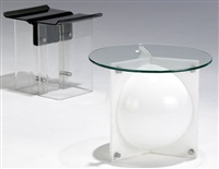 side tables (irgr; pair) by neal small