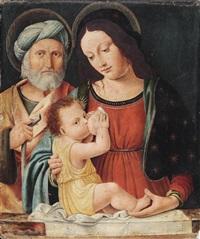 die heilige familie by matteo della chiesa