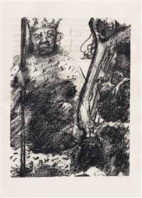 saul und david by lovis corinth