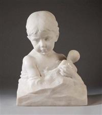 enfant à la poupée by jean-marie camus