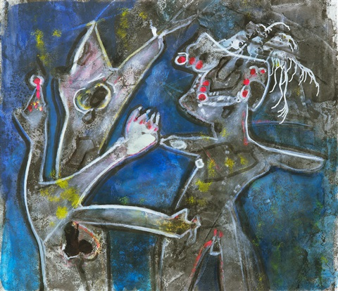 lovering by roberto matta