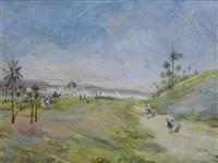 paesaggio arabo by fortunato giulio faini