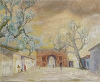 the delhi gate, delhi by c.l. gerrard