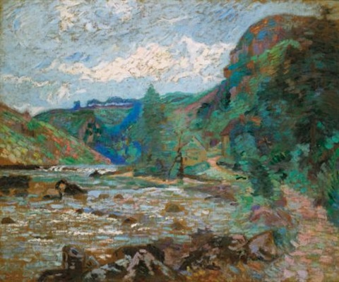 moulin bouchardon crozant by armand guillaumin