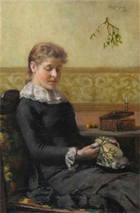 a thoughtful moment by john knox ferguson