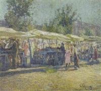 al mercato by enrico della (lionne) leonessa