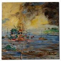 sausalito houseboats by pascal cucaro