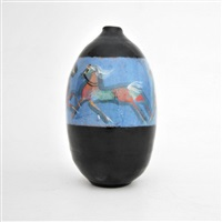 decorated vase/vessel by polia pillin