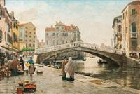 venice - cannaregio by hans herrmann
