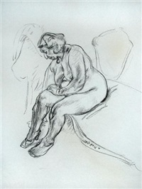woman sleeping (+ 20 others; 21 works) by robert sargent austin
