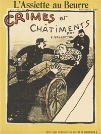 crimes et châtiments (set of 24) by félix edouard vallotton
