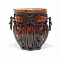 vase by mougin frères & louis majorelle