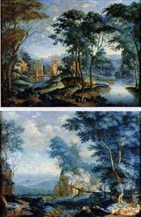 paesaggio con figure by jan snellinck iii