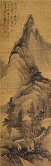 夏景山水图 by gong xian