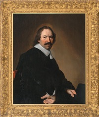 a seated gentleman, possible a self portrait by johannes cornelisz verspronck