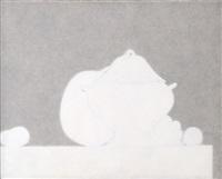 naturaleza muerta blanca by juan josé aquerreta