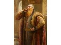 a boyar noble by konstantin egorovich makovsky