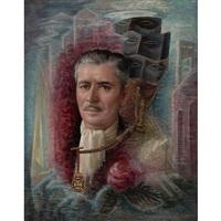 portrait of ronald colman by edna reindel