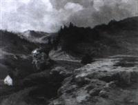 gebirgslandschaft by wilhelm (regnal w.) langer