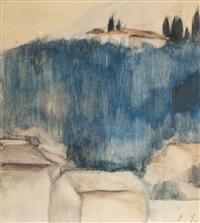 landscape from florence by einar ilmoni