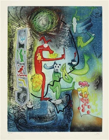 carne amont portfolio w6 works by roberto matta