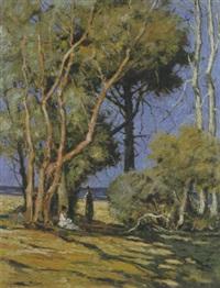 sosta all'ombra tra gli alberi by tomassi