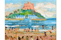summertime, st michael's mount by simeon stafford