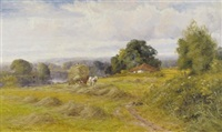 loading the haycart by henry bodge pennell